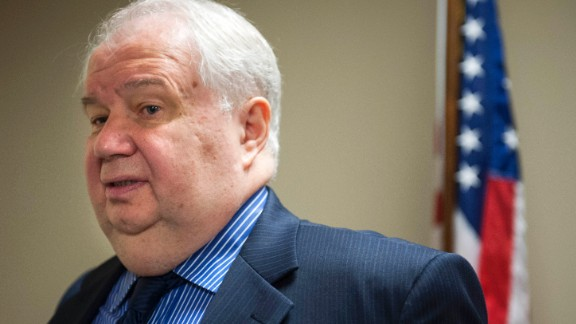 FILE- In this Sept. 6, 2013, file photo, Sergey Kislyak, Russia