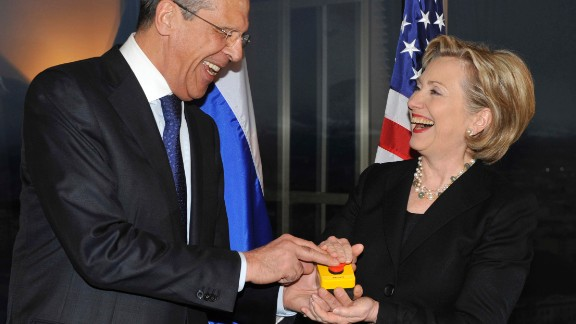 Kislyak was ambassador when then-Secretary of State Hillary Clinton presented Russian Foreign Minister Sergey Lavrorv with a