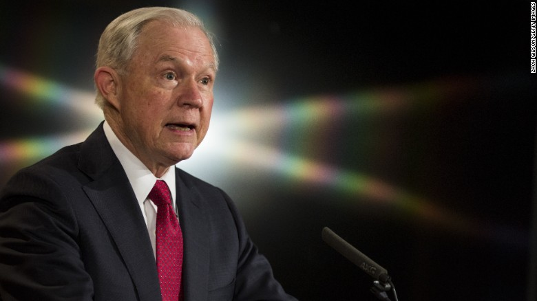 Jeff Sessions bows to political pressure