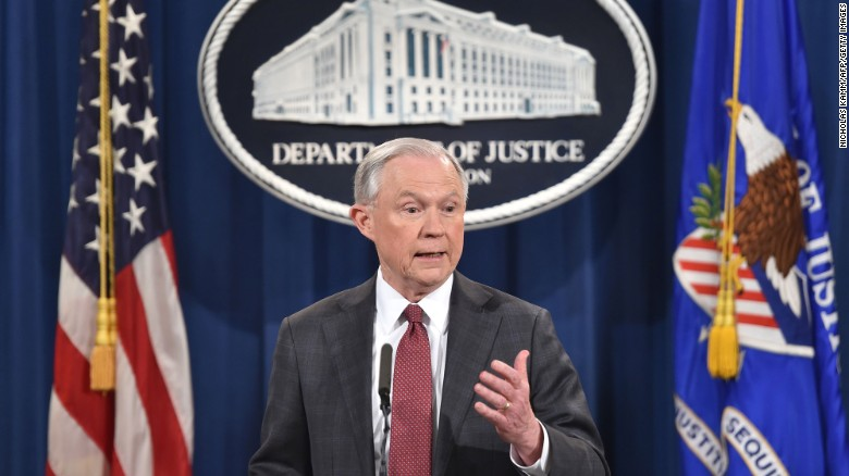 Sessions recuses himself from Russia investigations