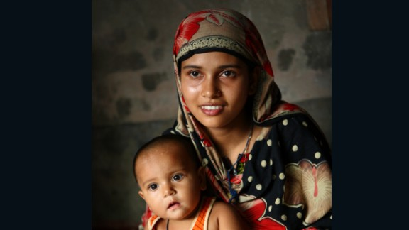 Sonamoni, pictured in 2013, married her husband when she was 8, according to UNICEF.