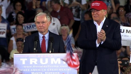 Trump: Sessions did not say anything wrong