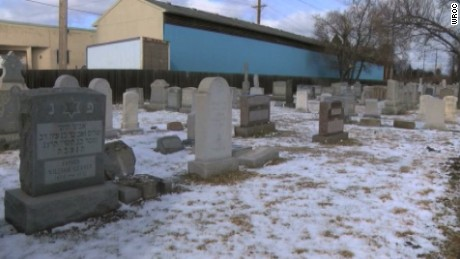 Jewish cemetery vandalized in New York, third case in recent weeks