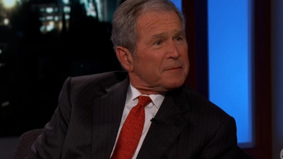 Bush on Kimmel