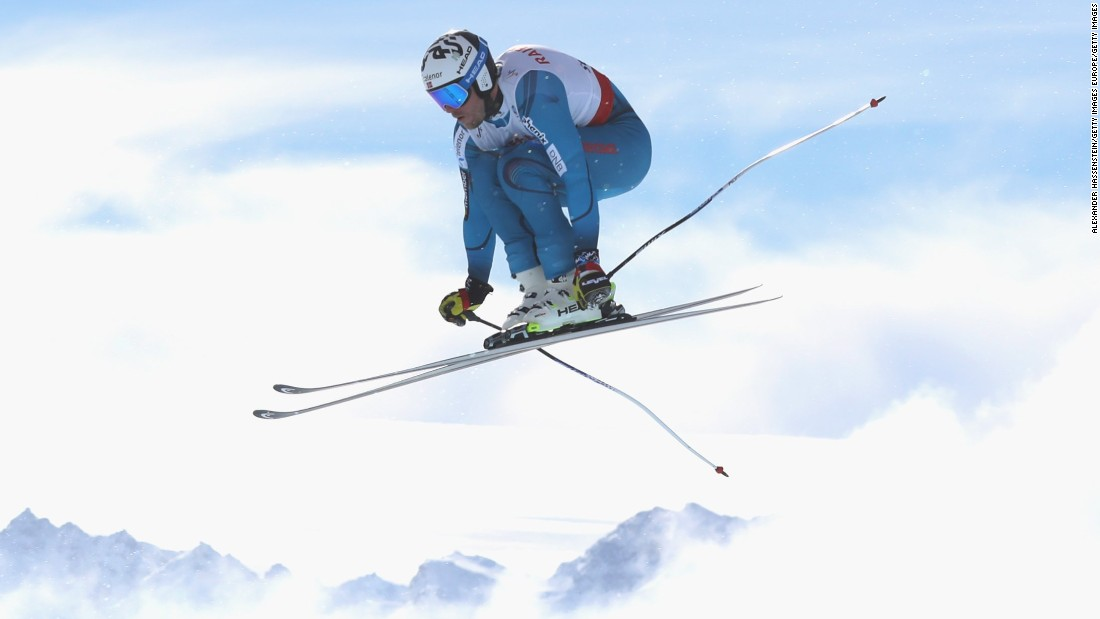 "Kjetil Jansrud of Norway flies high in St. Moritz. The Swiss resort is characterized by its<a href=""http://cnn.com/videos/sports/2017/02/09/st-moritz-fis-alpine-skiing-world-championships-glitz-glamour-orig.cnn""> <a href=""http://cnn.com/videos/sports/2017/02/09/st-moritz-fis-alpine-skiing-world-championships-glitz-glamour-orig.cnn"" target=""_blank""></a>wealthy clientele</a> and <a href=""http://cnn.com/2017/02/09/sport/skiing-steepest-start-gate-st-moritz-90-miles-per-hour/"" target=""_blank"">treacherous start gate. </a>"