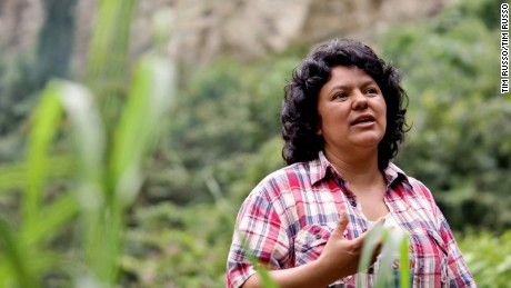Berta Cáceres was shot and killed two years ago in her western Honduras home.