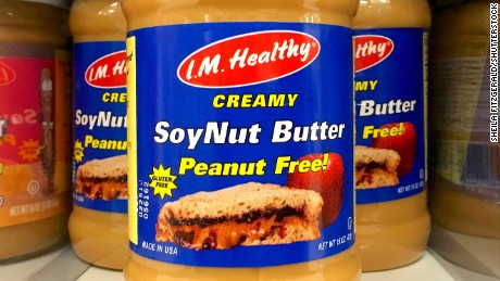 I.M. Healthy has recalled its Original Creamy SoyNut Butter.