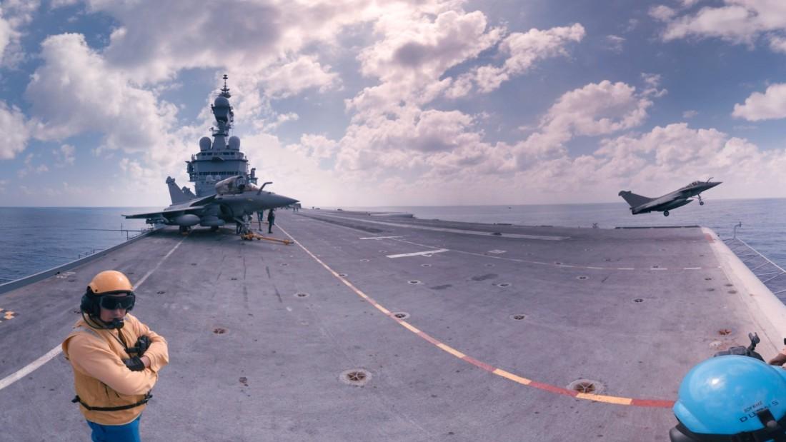 Stand on an aircraft carrier battling ISIS - CNN