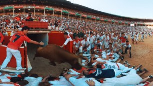 Go running with the bulls in Pamplona