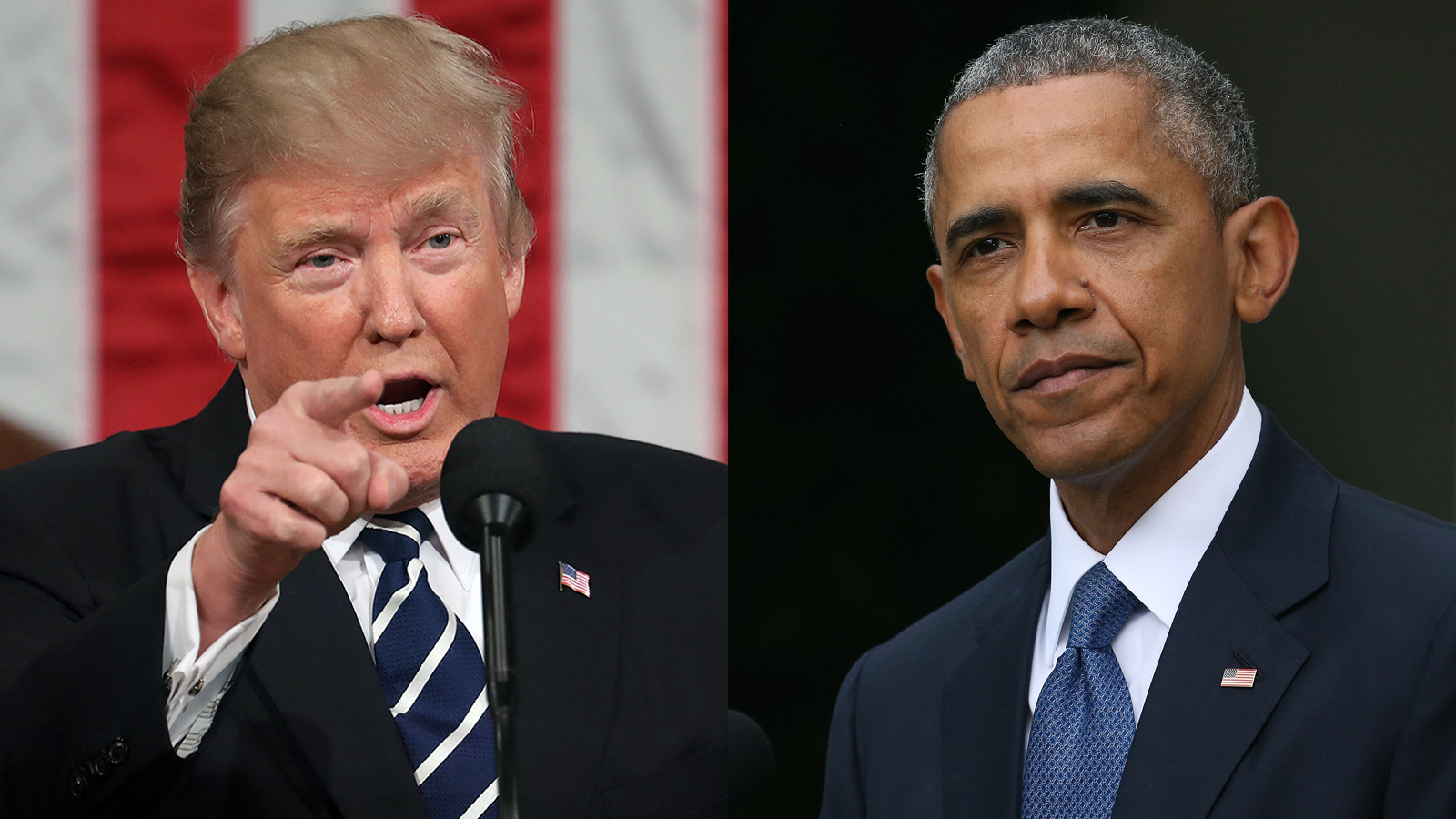 Image result for obama + trump