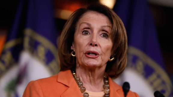 WASHINGTON, DC - MARCH 2: House Minority Leader Nancy Pelosi holds her weekly press briefing on Capitol Hill March 2, 2017 in Washington, DC. Pelosi called for the resignation of U.S. Attorney General Jeff Sessions and the establishment of a special prosecutor to investigate alleged contact between the campaign of U.S. President Donald Trump and members of the Russian government.  (Photo by Aaron P. Bernstein/Getty Images)