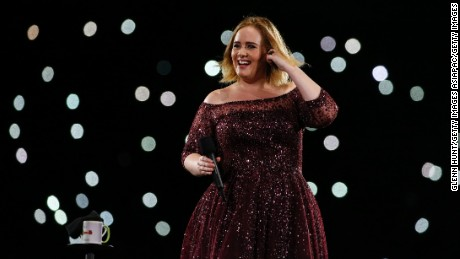 BRISBANE, AUSTRALIA - MARCH 04:  Adele performs at The Gabba on March 4, 2017 in Brisbane, Australia.  (Photo by Glenn Hunt/Getty Images)
