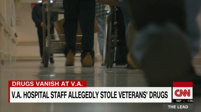 v.a. hospital staff allegedly stole veterans' drugs tapper pkg lead_00015511