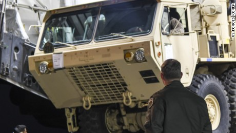Asian officials react to US THAAD system