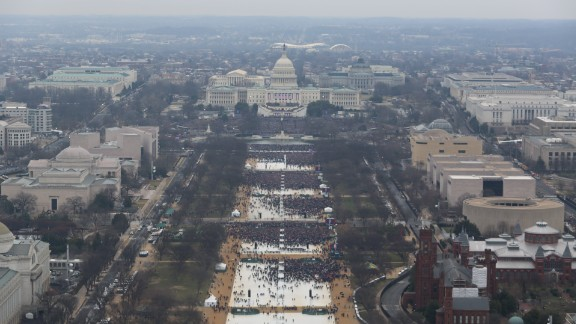 The National Park Service released files of images from the last three Presidential Inaugurations, in response to Freedom of Information Act requests from multiple media outlets.