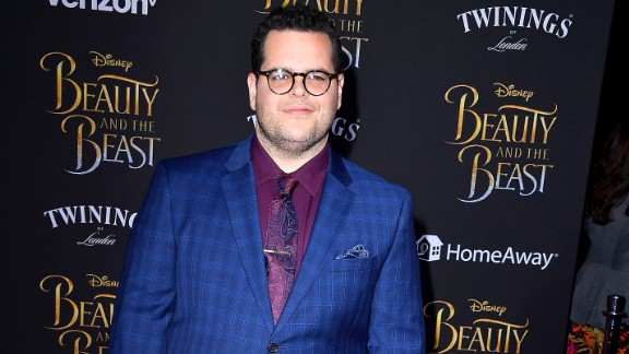 """LOS ANGELES, CA - MARCH 02:  Josh Gad  arrives a the Premiere Of Disney's """"Beauty And The Beast""""  at El Capitan Theatre on March 2, 2017 in Los Angeles, California.  (Photo by Steve Granitz/WireImage)"""