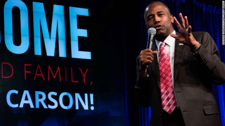Complaint filed over Carson's office expenses
