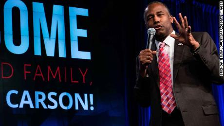 HUD spent $31,000 in 2017 on new dining room set for Carson's office