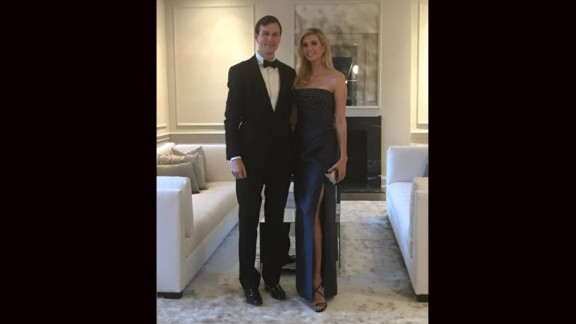 Ivanka Trump shares a photo of her and husband, Jared Kushner, after attending the Governor