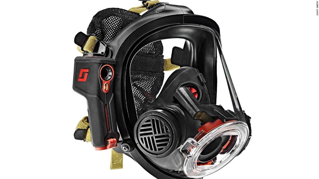 Firefighters see through smoke with new mask