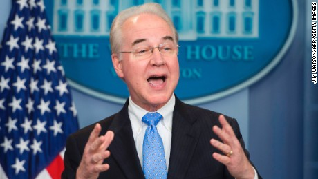 HHS Secretary vows GOP health care bill is 'so much better' than Obamacare