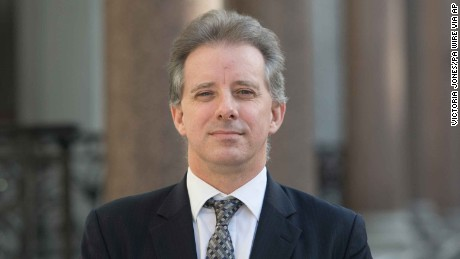 Trump dossier author Christopher Steele has returned to work in London.
