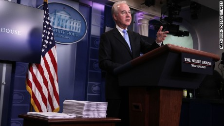 Tom Price: Trump's health care promises will be true down the line