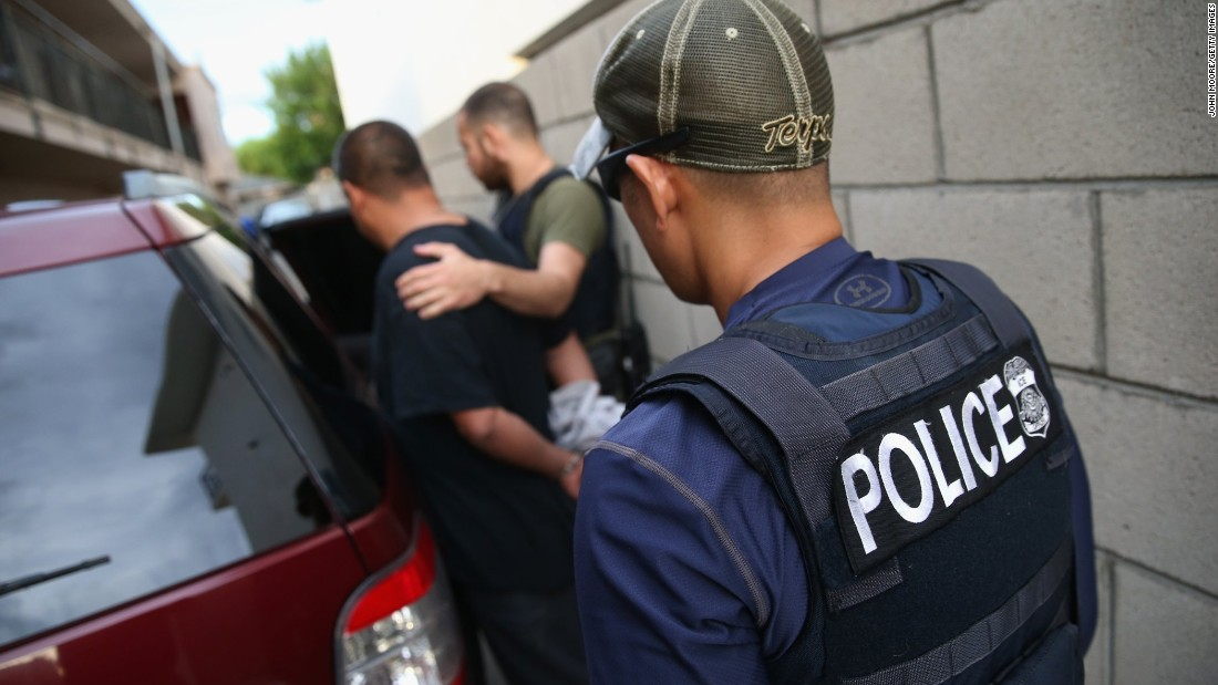 Immigration and Customs Enforcement has been targeting so-called sanctuary cities with increased enforcement operations