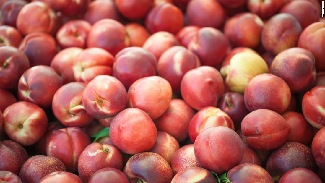 Nearly 94% of tested nectarines, third on the list, contained two or more pesticides, while a single sample showed residue from 15 separate pesticides.