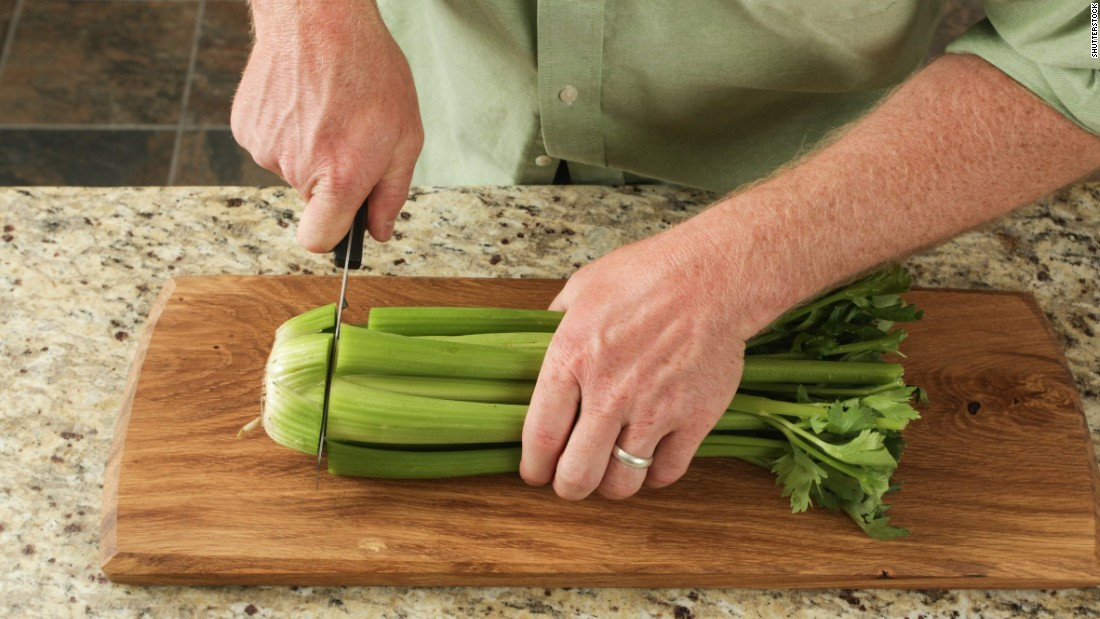 Nearly all celery samples -- 95% -- contained pesticide residue, with 13 pesticides found on a single sample. For these reasons, the Environmental Working Group placed this popular produce in position 10 among 2018's dirty dozen.