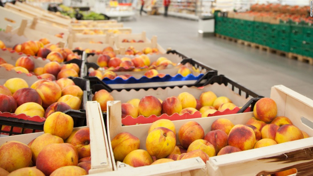 Close to every peach sample tested -- 99% -- showed detectable pesticide residue. Ranking sixth out of 12, peaches showed, on average, four pesticides per sample.