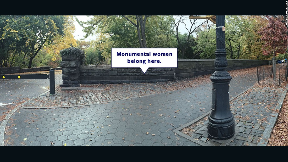 Where are the women? New effort to give them just due on monuments, street names
