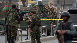 Gunmen in medical garb attack Kabul hospital in 2017
