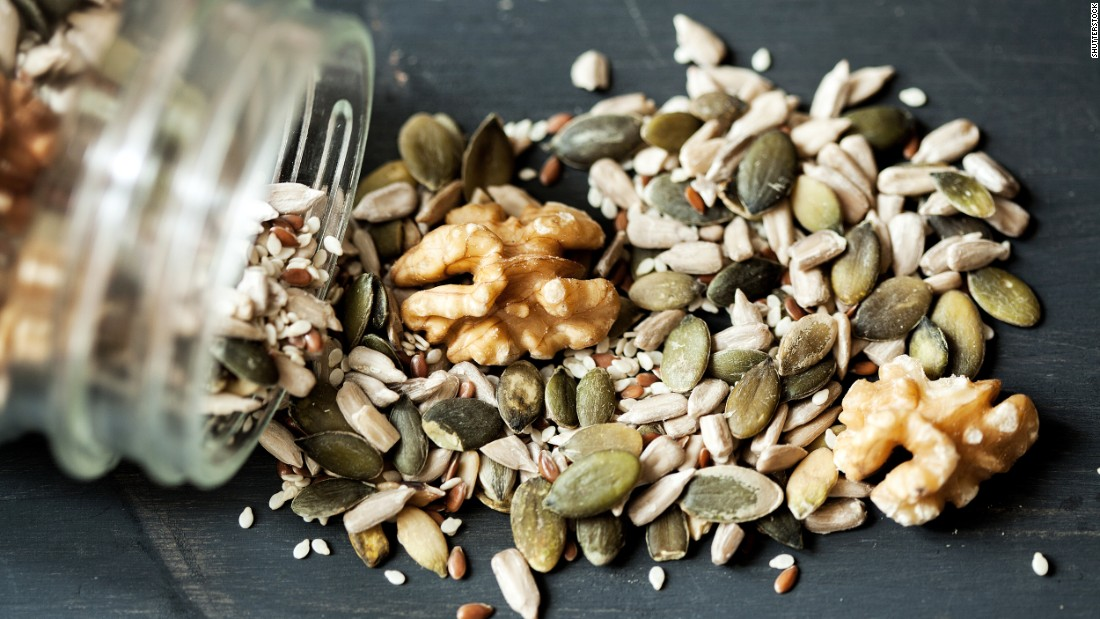 Nuts and seeds are high-protein foods that naturally come in nutrient-dense forms. The recommendation for healthy eating includes 5.5 ounces of protein-rich foods, such as walnuts, each day. Not eating enough nuts and seeds led to an estimated 8.5% of diet-related cardiometabolic deaths in 2012.