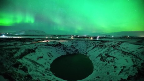 Northern lights in Iceland (March 2017)