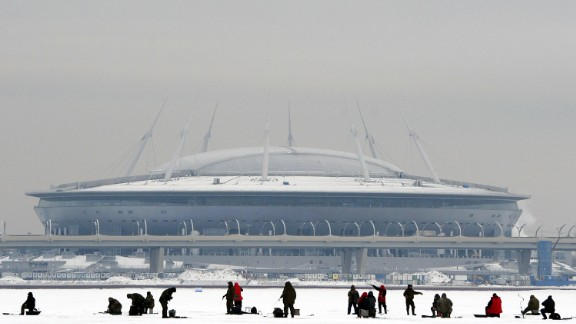 Opened in April 2017, the stadium is equipped with a retractable roof and sliding pitch. Inside, the temperature can be regulated to a mild 59 degrees Fahrenheit (15 C) all year round.