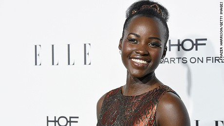 Lupita Nyong'o is a Hollywood Kenyan actress. She rose to international acclaim after her role in 12 Years a Slave, for which she won an Academy Award for Best Supporting Actress, making her the first Kenyan woman to win that title.