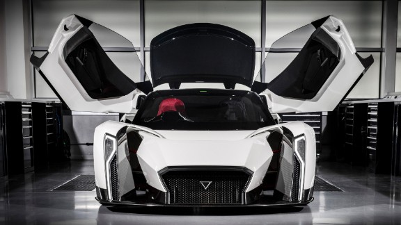 The all-electric car has been created by Singapore-based Vanda Electrics with technological input from UK-based Williams Advanced Engineering.