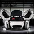 dendrobium electric supercar front gullwing