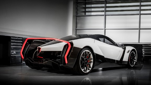 The Dendrobium boasts a top speed in excess of 200 mph and a 0-60 mph acceration of 2.7 seconds, according to Vanda Electrics.