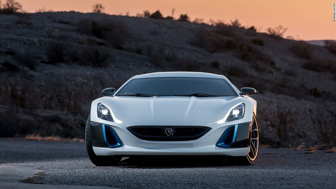 Upgrades will enable the refined Concept One to reach 200 kph (124 mph) in six seconds, according to Rimac.