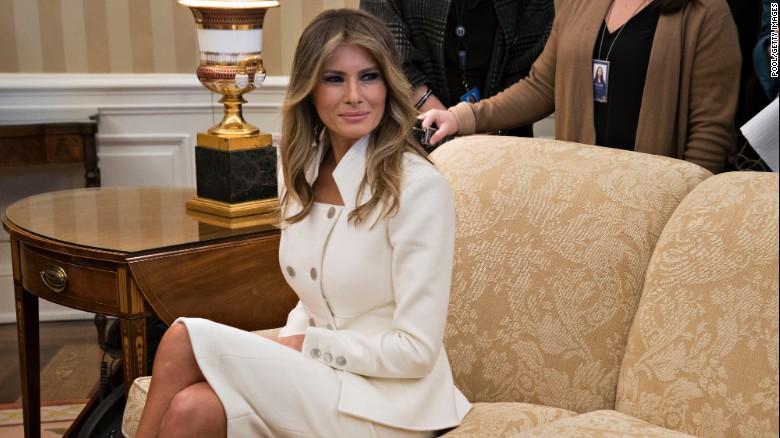 Melania Trump er klar til at dukke offentligt for første gang siden Porn Star-rapporten-8645