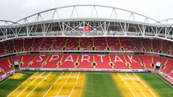 Spartak Stadium World Cup schedule: Last 16 Legacy: As well as hosting Spartak Moscow and the national side, the stadium will provide the center piece for a new residential development.