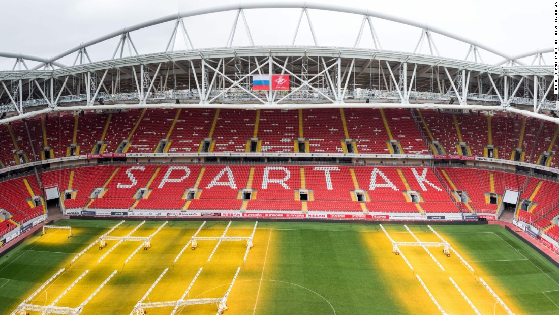 <strong>Spartak Stadium World Cup schedule: </strong>Last 16<strong><br />Legacy: </strong>As well as hosting Spartak Moscow and the national side, the stadium will provide the center piece for a new residential development.