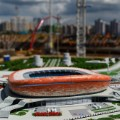 Mordovia arena russia 2018 world cup scale model