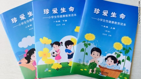 A series of sex education textbooks for children generated controversy online in China last year.