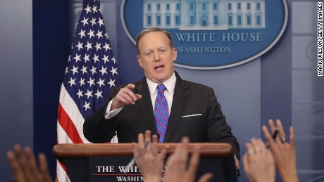 Spicer: Trump's tweet speaks for itself