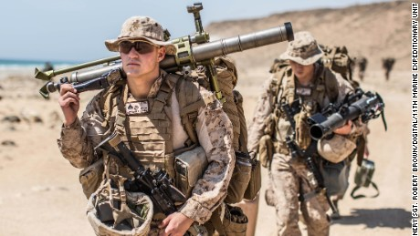 US Marines join local forces fighting in Raqqa