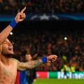 barcelona psg champions league celebrations neymar
