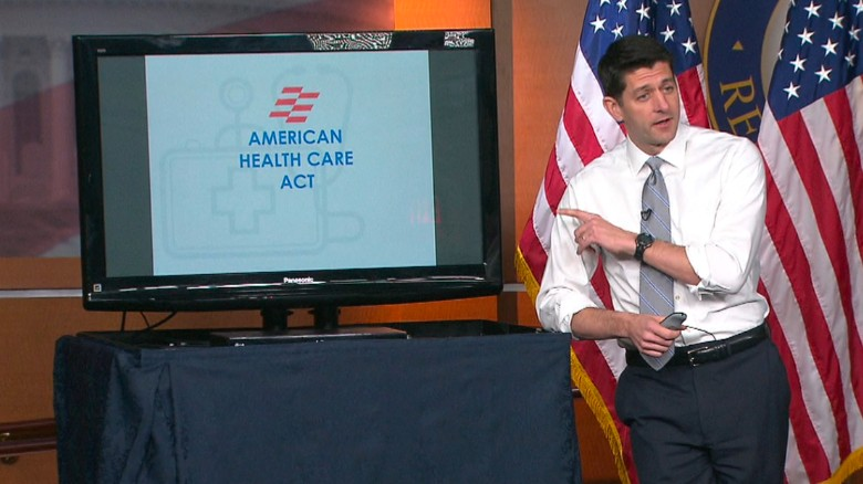 Paul Ryan's entire health care bill PowerPoint
